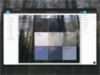 Figma: Fluent Microsoft Acrylic Materials