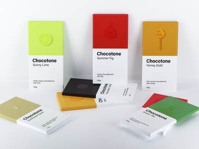 Chocotone. Candy chocolate bars.