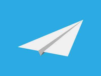 Isometric Paper Plane