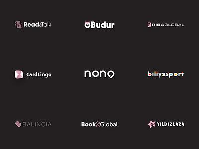 Logofolio - Part I design icon typography logo branding