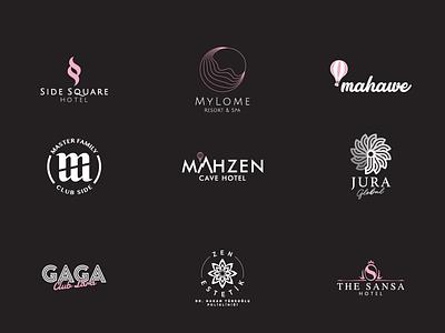Logofolio - Part III typography hotel logo branding