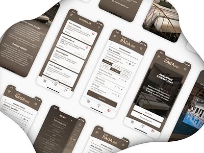 Hotel App vacation travel app design hotel ux ui