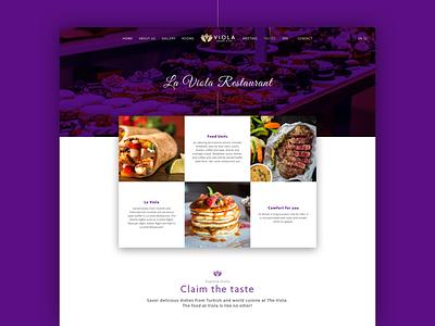Hotel Website, Viola website web logo branding vacation travel hotel design ui ux