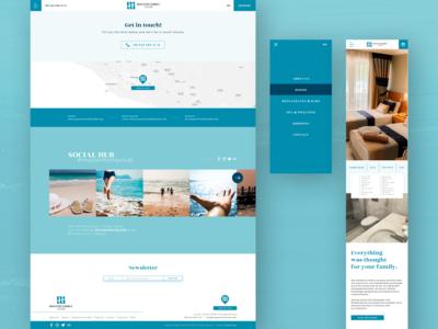 Hotel Website, Master Family Club II