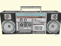 Panasonic Stereo By Sara Pimental