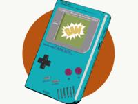 Original Game Boy in Teal