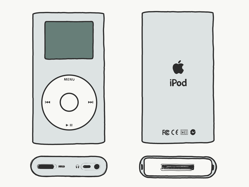 Naked and Unashamed (iPod) music apple mp3 ipod