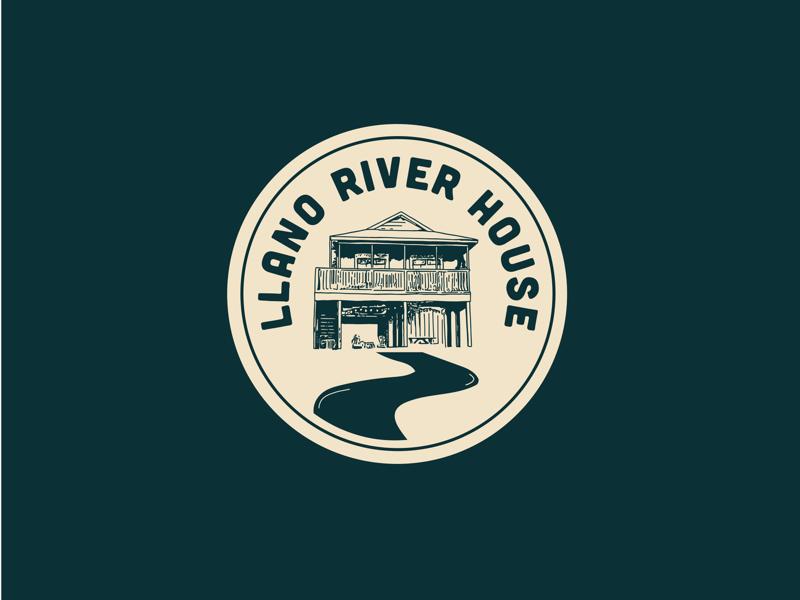 Llano River House Icon by Sara Pimental on Dribbble
