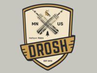 DROSH Custom Fishing Rods Logo