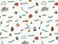 Adventure Camping Pattern