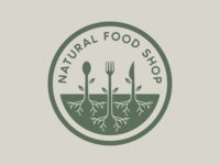 Natural Food Shop Logo