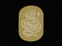 Serpent with Rune Sigil