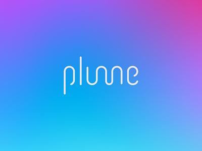 Plume Logo Concept internet wireless wifi symbol icon logo