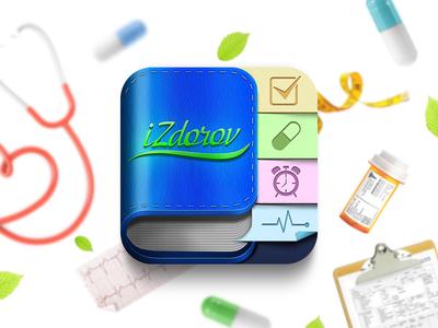 Health app iOS icon
