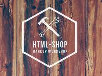 HTML-SHOP - Markup workshop / Logo design