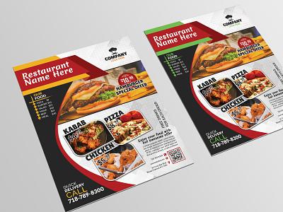Restaurant/Food Promotion Flyer Template kabab restaurant kabab restaurant