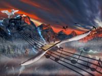 Melody of flight