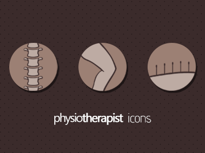Physiotherapy Icons