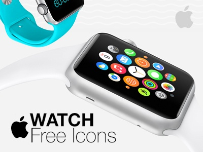 Apple Watch Free Icons