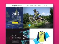 Spoke Apparel Co. 2017 Website