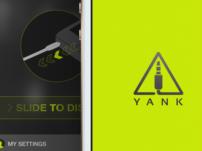 Yank! iphone ios7 app illustration ui yellow interaction