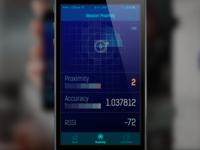 iBeacon Demo App UI