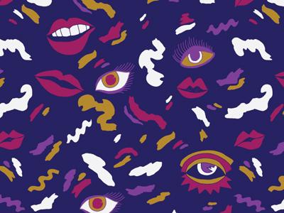 Lush Lips & Shimmery Eyes