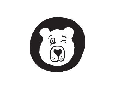 Winking Bear