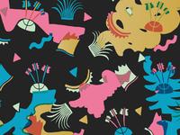 Alley-Oop II: Pattern (color)