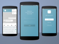 Mid Fidelity prototype - Find a Way App concept
