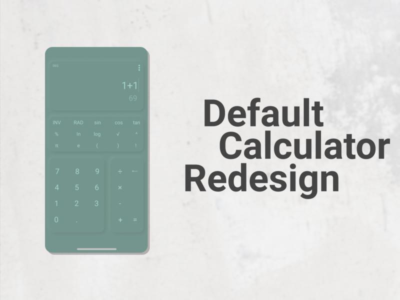 Calculator neumorphism default calculator dailyui app design ui design