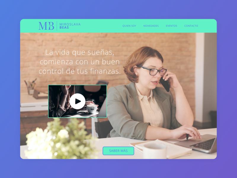Landing Page branding website web design design