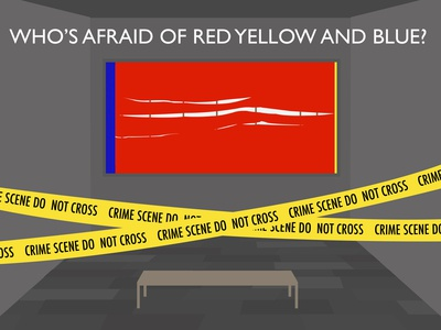 Who's Afraid of Red Yellow and Blue 3
