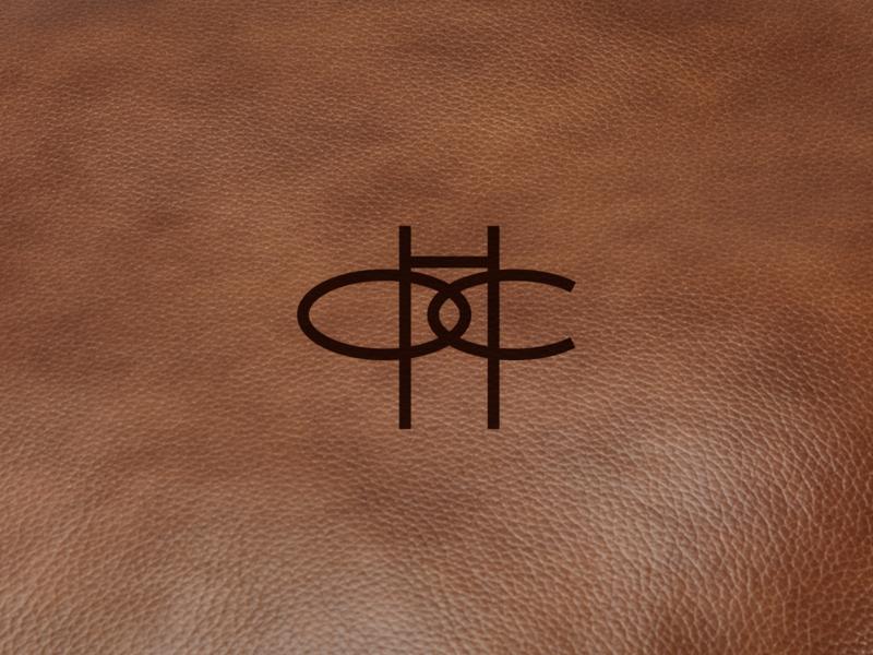 HOC Horse Stables, 2 typography logo vector