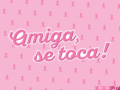 Amiga, se toca! causes vector typography