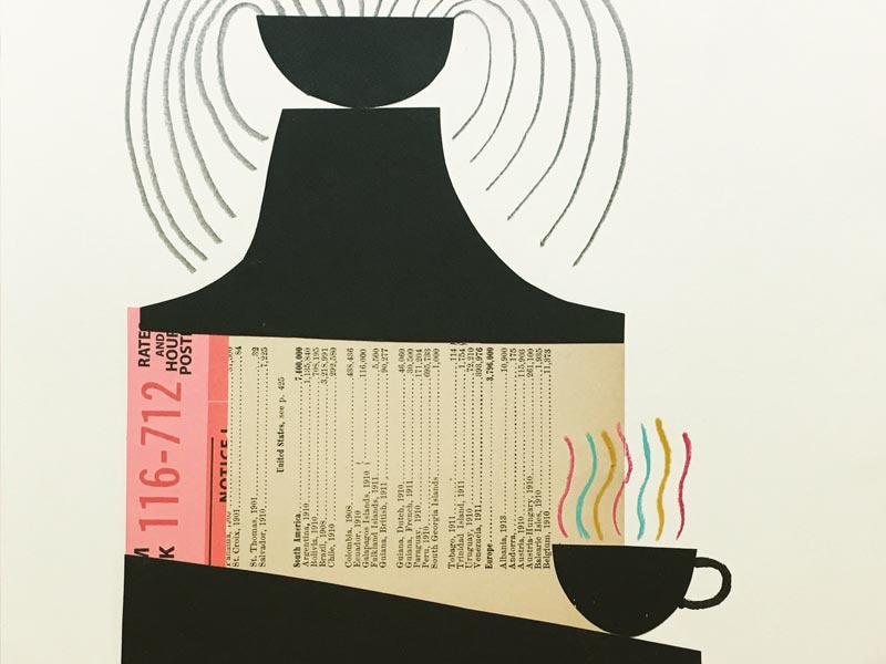coffee… illustration drawswithscissors