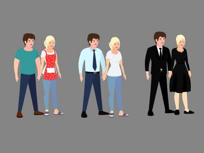 Stylized couples character design draw with jazza character design adobe character animator character animator character animation animate cc character rigging flash rigging tutorial character turnarounds 2d animation for beginners animate flash character rigging tutorial flash animation tutorials catoon animation tutorials