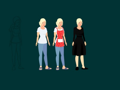 Girl character concepts for animation adobe animate animate cc character turn arounds draw with jazza character design adobe character animator character animator character animation animate cc character rigging character turnarounds 2d animation for beginners animate flash animation tutorials catoon animation tutorials
