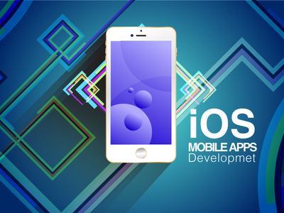 Flat design Ios Apps Development