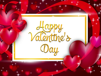 Happy Valentines Day Special Greeting Design