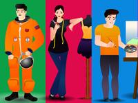 Character Design in adobe illustrator