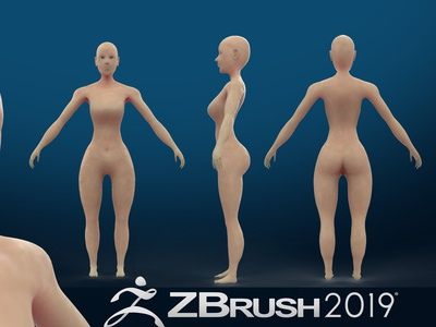 Zbrush tutorial How to create female base