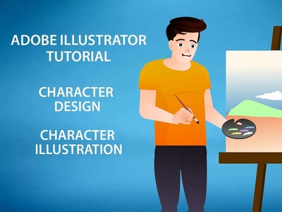 How to create Flat design character for animation