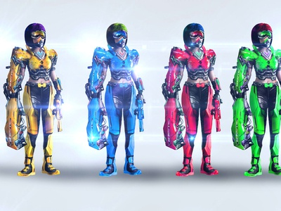 Concept Art Character Female Template