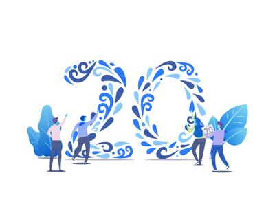 Number 20 design