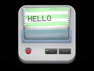 Dot Matrix Printer icon