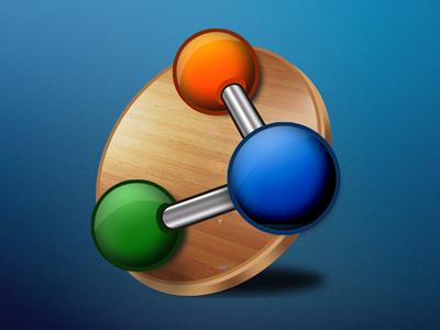 Artiva Workstation icon artiva icon wood balls glossy