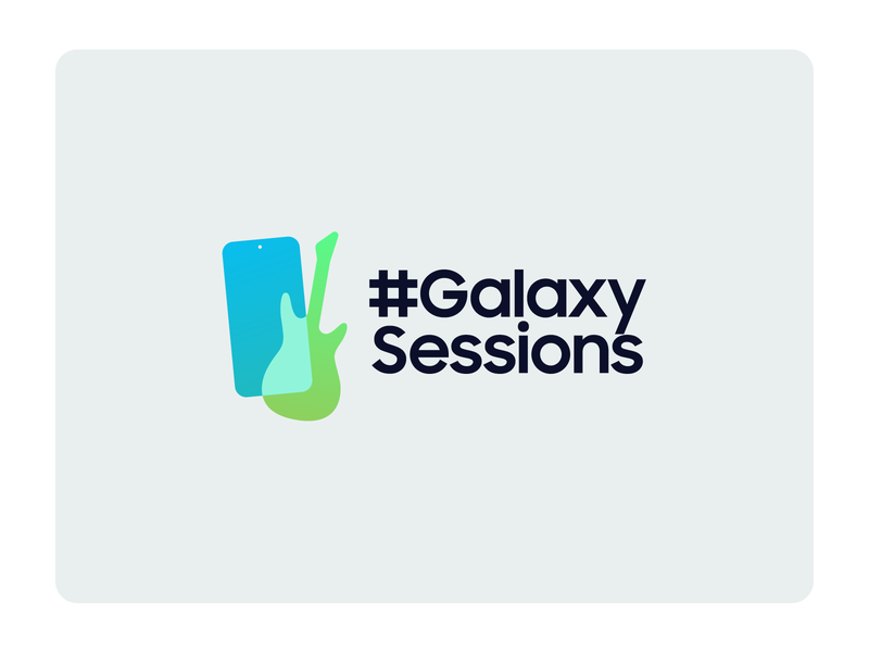 Music Sessions Logo samsung youtube music logotype icon logos branding logo design design vector 2d logo