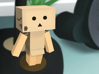 Danboard Figure Illustration