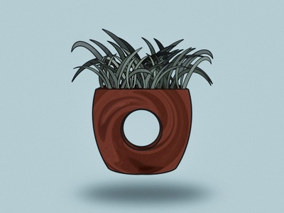 Zen Plant Illustration
